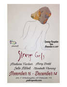 """Strange Grls"" opening reception at Gallery Eola"