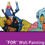 """นิทรรศการ ศิลปะบนผนัง """"FOR"""" wall painting showcase"""