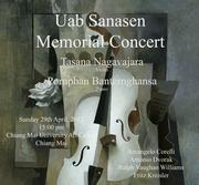 """งาน """"Uab Sanasen Memorial Concert"""""""