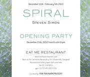 """นิทรรศการ """"Steven Simon: Spiral"""""""