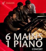 """การแสดงเปียโน """"6 Mains 1 Piano"""""""