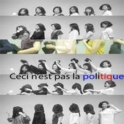 """การแสดง """"นี่ไม่ใช่การเมือง"""" (Ceci n'est pas la politique)"""