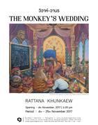"""นิทรรศการ """"วิวาห์-วานร"""" (The Monkey's Wedding)"""