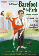 Mandan Productions Present 'Barefoot In The Park'in our NEW VENUE!!!