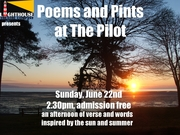 Summery Poems and Pints at The Pilot Inn