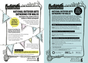 National Outdoor Arts Gathering for Wales