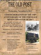 150th Anniversary of the Ferndale Mining Disaster of 1867