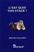"""""""C'est quoi ton stage ?"""" de Sophie Vuillemin (Chloe des Lys), une note de lecture d' Edmée De Xhavée."""