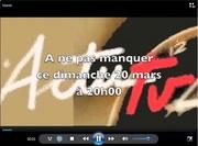 Teaser ou bande annonce de l' ACTUtv de ce dimanche 20 novembre