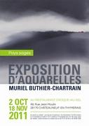 """Exposition """" PAYS SAGES """" peintures de Muriel Buthier-Chartrain"""