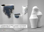 La céramique contemporaine s'expose, les céramistes ,Clementine Dupré et Marit Kathriner s'imposent aux Ateliers galerie de L'Ô