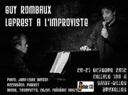 Guy Rombaux chante Leprest à la Cellule 133