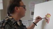 Olivier Dumont, vivre pour peindre et peindre pour survivre, sur ACTU-tv