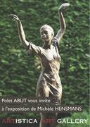 Exposition des sculptures en bronze de Michèle HENSMANS