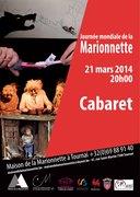 Soirée Cabaret pour la Journée mondiale de la Marionnette