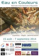 2ème Biennale internationale d'aquarelle de Belgique IWB 2