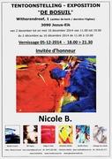 EXPOSITION NICOLE B. mise à l'honneur