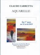 Aquarelles de Claude Carretta
