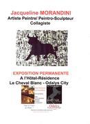 Jacqueline Morandini à l'hôtel Résidence Le Cheval Blanc/Odalys City à Nîmes (30)