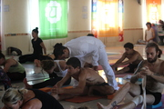 200 Hour Yoga Teacher Training Class in Rishikesh India