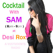 "Sam's Show ""Cocktail with Sam"" RJ sam"