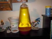 New Lamp #34 Yellow/Pink