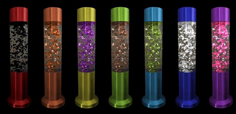 Custom Kenart Glitter Lamps!