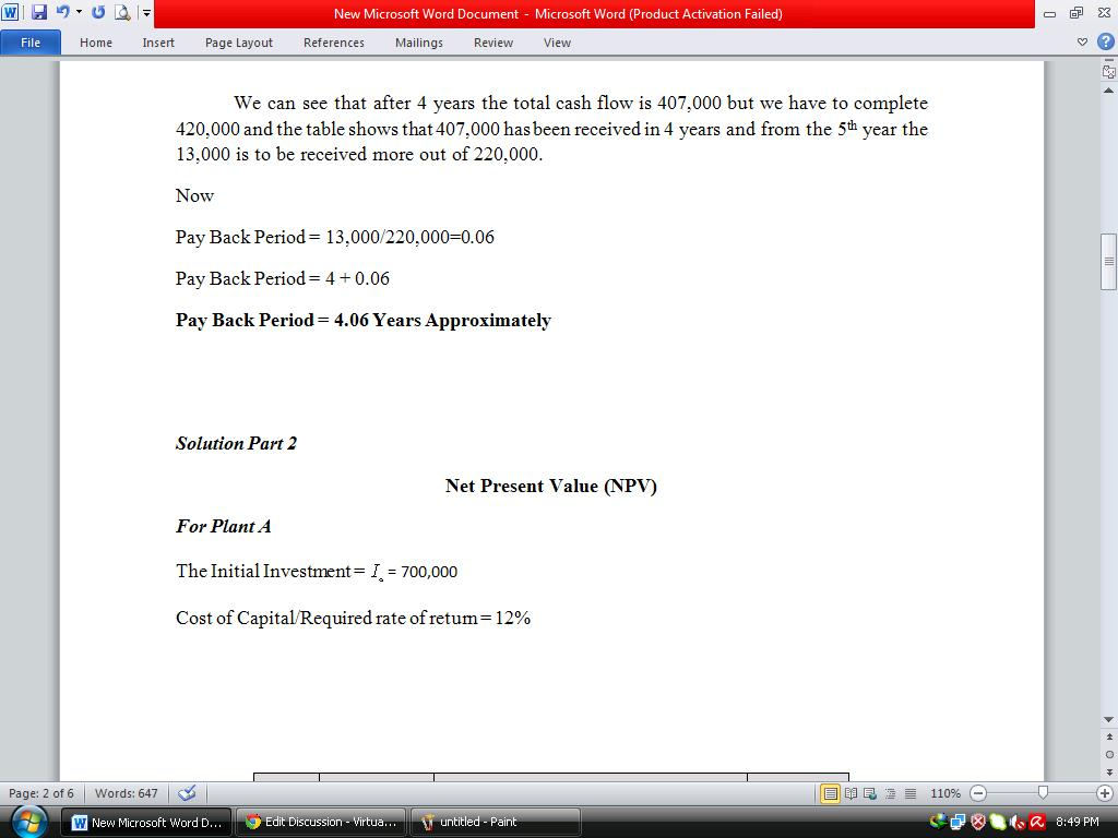 Acc501 Business Finance All Softwares