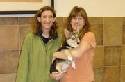 Wendy and I at Kona's Graduation from Puppy Class