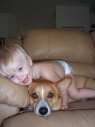 Baby and Doggie = Love!!