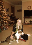 merry christmas from kirby and i