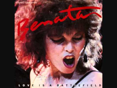 Pat Benatar - Love is a Battlefield [LYRICS]