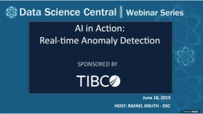 DSC Webinar Series: AI in Action: Real-time Anomaly Detection