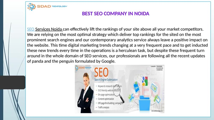 SDAD Technology, Best SEO Company in Noida- For Affordable Price