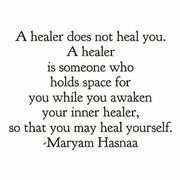 a healer doesnt heal you