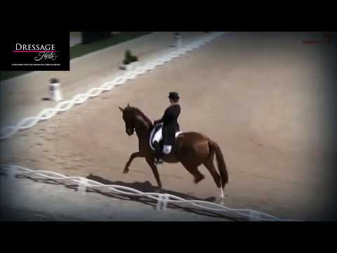 Isabell Werth and Bella Rose Grand Prix Highlights From the German Championships 82%