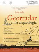 Curso-Taller de Georradar, Imparten Dra. Martha Elizondo, Dra. Denisse Argote, y Dr. Pedro López