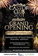 Exclusive VIP Grand Opening of Philly's Hottest New Club!