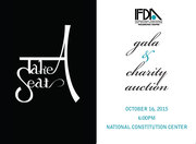IFDA Take A Seat Gala and Charity Auction