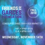Jose Garces and The Friends of the Garces Foundation Fall Benefit