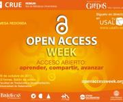 Open Access Week at University of Salamanca (Spain)