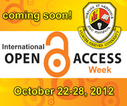 Open Access Week - OA Awareness @ Uganda Martyrs University