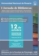 Jornadas de Bibliotecas de la Universidad Nacional de Rosario, Argentina