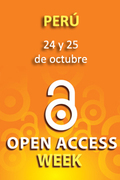 """Event in Peru: """"Publica en acceso abierto. Libera el conocimiento"""""""