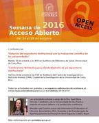 Relación del repositorio institucional con la evaluación científica en las universidades