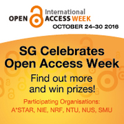 NUS celebrates Open Access week! Talk on Open Access publishing developments in the Humanities and Social Sciences (HSS)