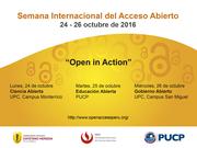 Semana del Acceso Abierto en el Perú