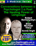 "3-Webinar Series: ""Conversations between a Psychologist and a Poet: The Healing Power of Language"""