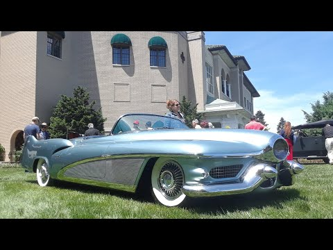1951 LeSabre GM Concept Car At the 2019 Elegance At Hershey