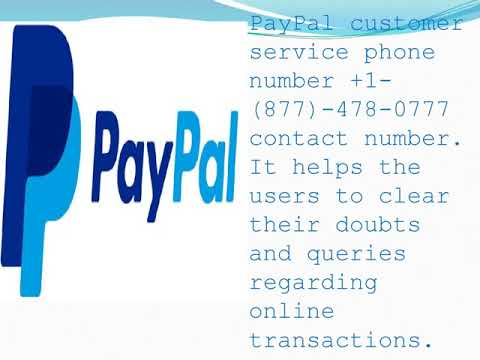 Paypal Service Number